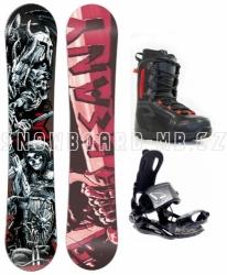 Snowboardový komplet Beany Hell s rychlozapínacím vázáním SP