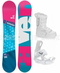 Dámský snowboard komplet Raven Style