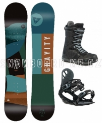 Snowboardový komplet Gravity Empatic 2019/20