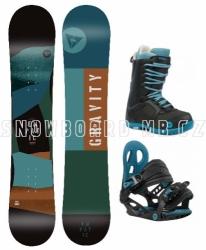 Dětský snowboardový komplet Gravity Empatic Jr 2019/20