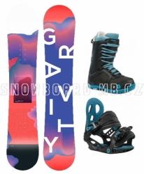 Dětský dívčí snowboard komplet Gravity Fairy black 2019/20