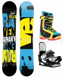 Dětský snowboard komplet Raven Gravy Junior s botami Beany