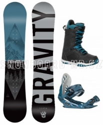 Snowboard komplet Gravity Adventure 2019/2020