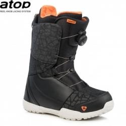 Dámské snowboardové boty s kolečkem Gravity Aura Atop black/coral