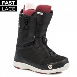 Dámské snowboardové rychlozapínací boty Gravity Sage Fast Lace black