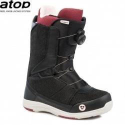 Kvalitní dámské snowboardové boty Gravity Sage Atop black s kolečkem