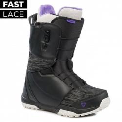Dámské snowboardové boty Gravity Aura Fast Lace black/grey rychloutahovací