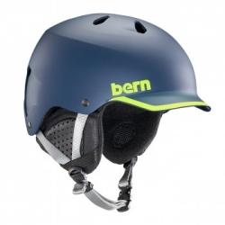 Snowboardová přilba Bern Watts navy/green