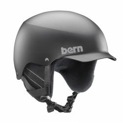 SNB helma Bern Baker matte black s kšiltem