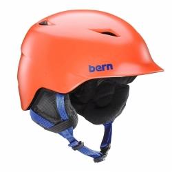 Chlapecká snowboardová a lyžařská helma Bern Camino satin orange