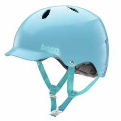 Dívčí snowboardová a lyžařská helma Bern Bandita satin light blue