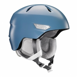 Dámská a dívčí zimní helma Bern Bristow satin atlantic blue