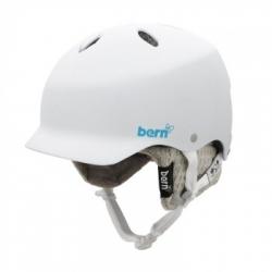 Dámská snowboardová a ski helma Bern Lenox gloss white