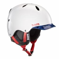 Dětská zimní helma Bern Bandito satin patriot brimstyle 2019/20