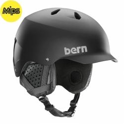 Snowboardová helma Bern Watts Mips matte black 2019/2020