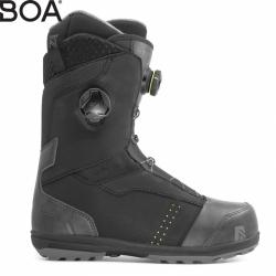Snowboardové boty Nidecker Triton Focus black s dvěma kolečky BOA