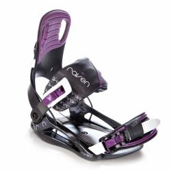 Dámské snowboardové vázání Raven Starlet black/violet