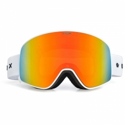Ski a SNB brýle Woox Opticus Temporarius White/Re s oranžovým sklem