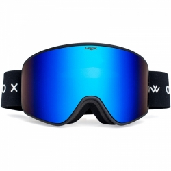Lyžařské a snowboardové brýle s modrým sklem Woox Opticus Temporarius Dark/Blu