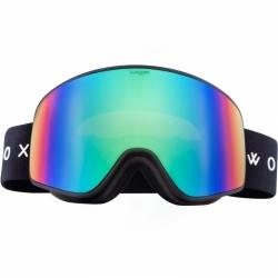 Snowboardové a lyžařské brýle Woox Opticus Temporarius Dark/Gre