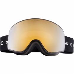 Lyžařské a snowboardové brýle Woox Opticus Temporarius Dark/Gld