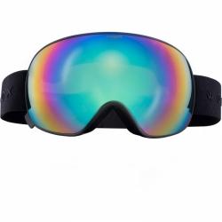 Snowboardové a lyžařské brýle Woox Opticus Opulentus Dark/Gre barevné sklo a černý psek