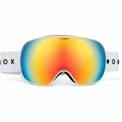 Ski a snow brýle Woox Opticus Opulentus White/Re bílé s duhovým sklem