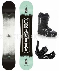 Snowboardový komplet Gravity Adventure s vázáním Head a botami Raven