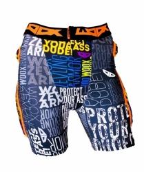 Snowboardové chrániče na zadek, stehna a kostrč: kalhoty Woox