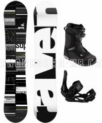 Snowboardový komplet Raven Supreme s vázáním Head a botami Scout s boa systémem