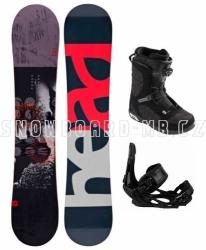 Pánský snowboardový komplet Head Course LGCY, vázání a boty Head Boa