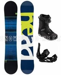 Snowboardový komplet Head True Camba s botami s utahováním kolečkem Boa