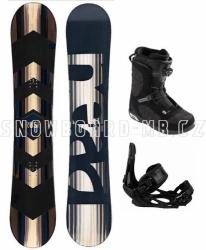 Snowboard komplet Head Rush s vázáním a botami Head Scout Lyt Boa