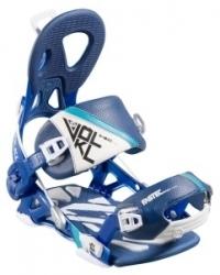 Snowboardové rychlozapínací vázání Völkl Fastec Choice Alu Blue