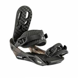 Juniorské snowboardové vázání Nitro Charger black