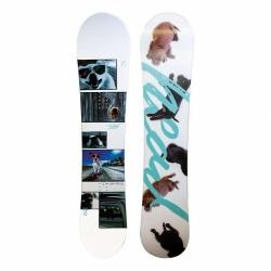 Dámský snowboard Head Talent Flocka s motivem pejsků