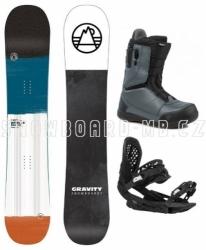 Pánský snowboardový freeride / allmountain komplet Gravity Apollo 2020/21