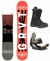Twintip freestyle snowboard komplet Gravity Madball 2020/21