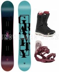 Dámský snowboardový komplet Gravity Sublime 2020/21 s rychlozapínacími botami