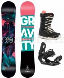 Juniorský dívčí a dámský snowboardový set Gravity Thunder Jr