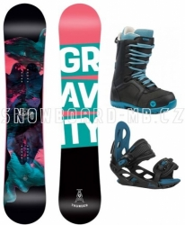 Junior dívčí snowboardový set Gravity Thunder Jr 2020/21