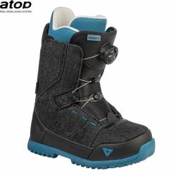 Dětské boty Gravity Micro Atop black denim 2020/2021