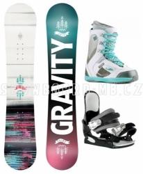 Dívčí snowboard set Gravity Fairy s botami Gang Clouds