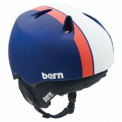 Dětská chlapecká helma BERN NINO na lyžování a snowboard zateplená