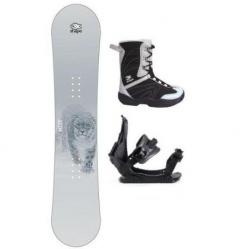 Nejlevnější snowboard komplet - snowboardy pro děti