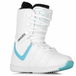 Dámské a dívčí snowboard boty Gravity Thunder white/blue bílé/modré