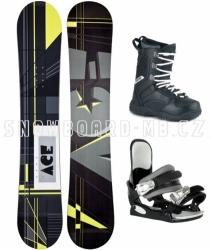 Snowboardové komplety levně, snb komplet, levný snowboard set ACE