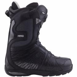 Boty na snowboard Nitro Team TLS black, pevné a kvalitní boty